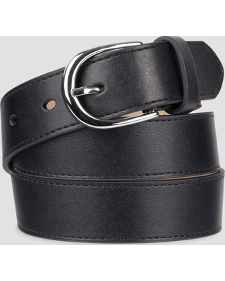71a4e960e Don t Miss This Deal  Women s Faux Leather Belt - A New Day Black M