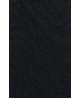 Everly Quinn Jessica Abstract Tufted Wool Black Area Rug X112698554 Rug Size: Rectangle 8' x 10'