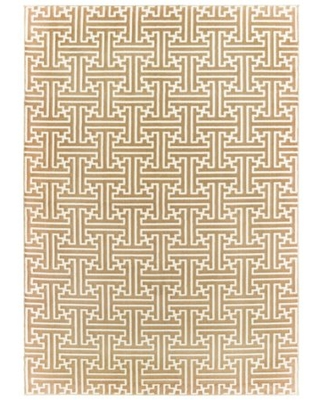 Avalon Home Brecken Hi-Low Textured Geometric Area Rug or Runner, Multiple Sizes