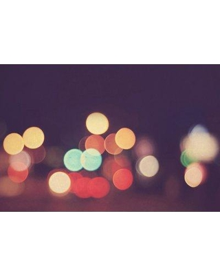 """Marmont Hill 'Bokeh Nights' Photographic Print on Wrapped Canvas MH-ELLMOS-03-C Size: 20"""" H x 30"""" W x 1.5"""" D"""