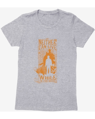 Harry Potter Voldemort Harry One Must Die Womens T-Shirt