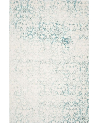 Safavieh Passion Turquoise/Ivory 5 ft. x 8 ft. Area Rug