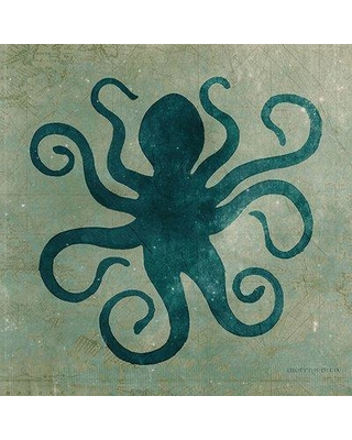 Highland Dunes 'Octopus' by Anthony Morrow Graphic Art Print on Wood HIDN6058