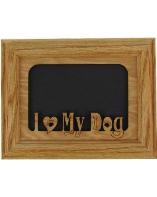 NorthlandFramesandGifts I Love My Dog Picture Frame 0507LOVEDOGOO