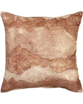 FrenchConnection Seigler Decorative Throw Pillow W001145122 Color: Blush