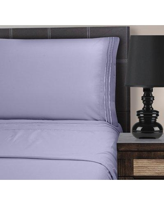 The Twillery Co. Patric Microfiber Solid Color Sheet Set CHMB2074 Size: California King Color: Lilac