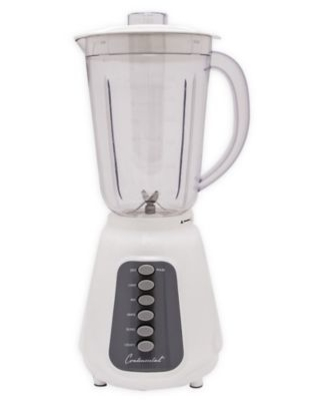 Continental Electric 48 oz. 5-Speed Blender in White
