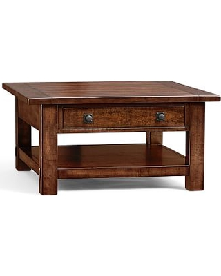 Deal Alert 20 Off Benchwright Square Coffee Table Rustic Mahogany