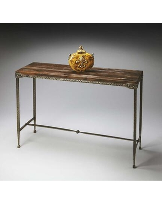 Gratton Collection 2886120 Console Table with Transitional Style Rectangular Shape and Acacia Wood in Mountain Lodge