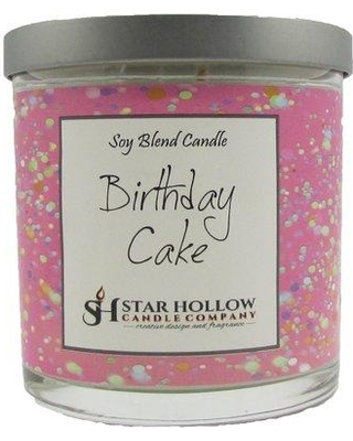 StarHollowCandleCo Birthday Cake Scented Jar Candle LSLJAFC Size 325 H X 275 W