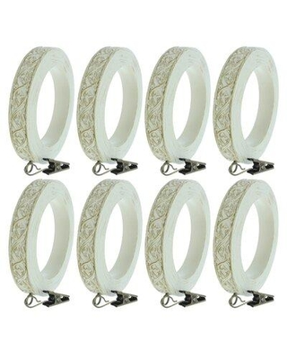 Discover Deals On Alcott Hill Nathaly Curtain Ring Finish Pewter Plastic In Bronze Gold Gray Size 1 L X 4 W X 4 H Wayfair Ce64a4b1dd504ad8bb7f31d98bd54bda