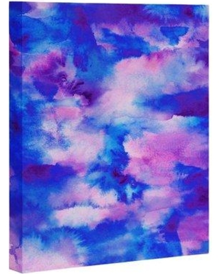 """East Urban Home 'Someday Some Sky' Graphic Art Print on Canvas EBHT1440 Size: 10"""" H x 8"""" W x 1.5"""" D"""