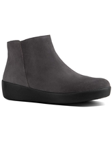 FitFlop Sumi Suede Ankle Boot - Brown