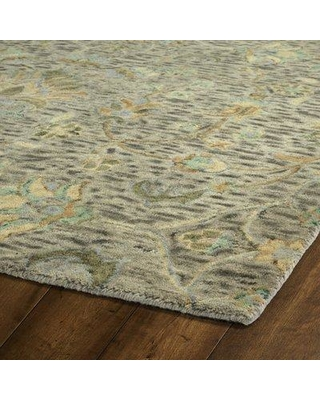 """Bungalow Rose Toshiro Hand Tufted Wool Taupe Area Rug BGRS2817 Rug Size: Runner 2'6"""" x 8'"""
