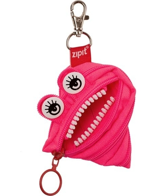 Monster Mini Pouch - Pink