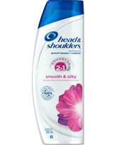 Head & Shoulders 2-in-1 Smooth & Silky Shampoo And Conditioner - 12.8 fl oz