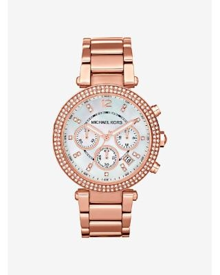 Michael Kors Parker Rose Gold-Tone Watch Rose Gold One Size