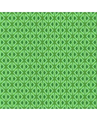 East Urban Home Geometric Wool Green Area Rug X113650050 Rug Size: Rectangle 3' x 5'