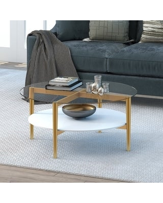 Shopping Special For Carson Carrington Saliesta Mid Century Modern Coffee Table White