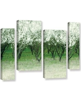 """Latitude Run Spring Wind 4 Piece Painting Print on Wrapped Canvas Set LTRN5448 Size: 24"""" H x 36"""" W x 2"""" D"""