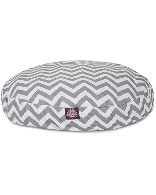 Majestic Pet Products Gray Polyester Round Dog Bed (For Small)   788995506270