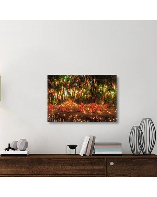 """East Urban Home 'Prayers' Photographic Print On Wrapped Canvas ERNH2878 Size: 24"""" H x 36"""" W x 1.5"""" D"""