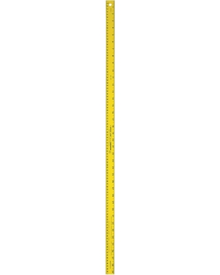 Swanson Swanson 39 375 in  Meterstick Ruler Yellow from Home Depot | Real  Simple