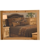"""Fireside Lodge Simply Hickory Mirror S1290-NG Size: 36"""" H x 36"""" W"""