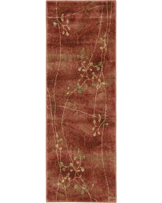 Nourison Painted Desert Flame 2 ft. x 8 ft. Runner Rug