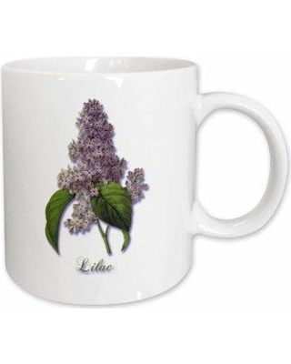 Can T Miss Deals On East Urban Home Lilac Botanical Print Of A Lavender Spring Blooming Fragrant Flower Coffee Mug X112210930