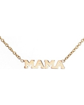 Women's Zoe Chicco Itty Bitty Mama Pendant Necklace