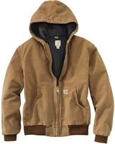 Carhartt Men's Quilted Flannel Lined Duck Active Jacket - 4XL - Carhartt Brown