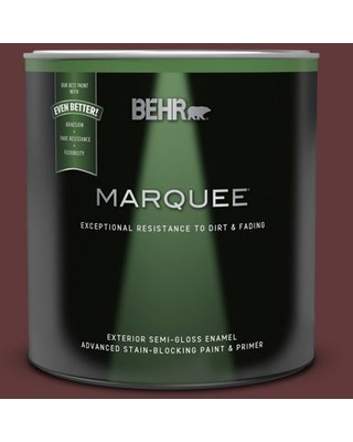 BEHR MARQUEE 1 qt. #T11-10 Wild Thing Semi-Gloss Enamel Exterior Paint & Primer