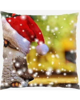 The Holiday Aisle Perdomo Christmas Indoor/Outdoor Canvas Throw Pillow W001114406