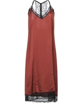 Midi Dress - Brown - Femme By Michele Rossi Dresses