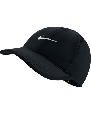 Nike Women's Feather Light Adjustable Hat, Black