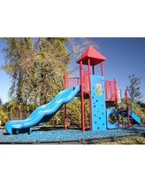 Kidstuff Playsystems, Inc. Playsystem 5977 Color: Red, Blue and Yellow