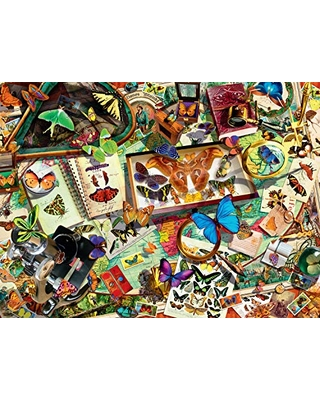 Buffalo Games - The Butterfly Collector - 1000 Piece Jigsaw Puzzle