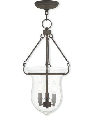 Bay Isle Home Brentwood 3-Light Urn Pendant BAYI4459 Color: Bronze