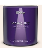 Huge Deal On Behr Marquee 1 Qt M210 1 Seed Pearl Semi Gloss Enamel Interior Paint And Primer In One
