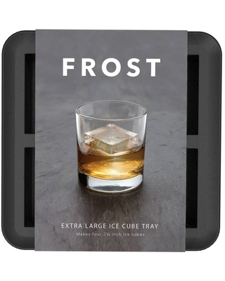 FROST Silicone Large Ice Cube Tray Gray