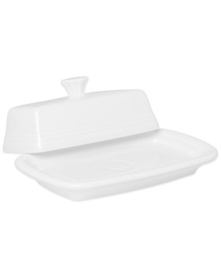 Fiesta® Extra-Large Covered Butter Dish in White