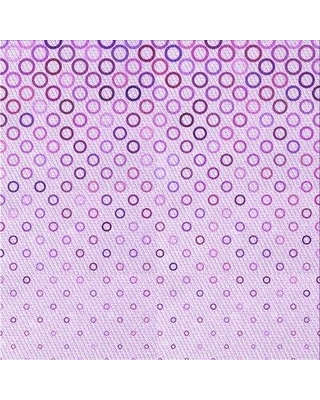 East Urban Home Carder Polka Dots Purple Rug X111181411 Rug Size: Square 3'