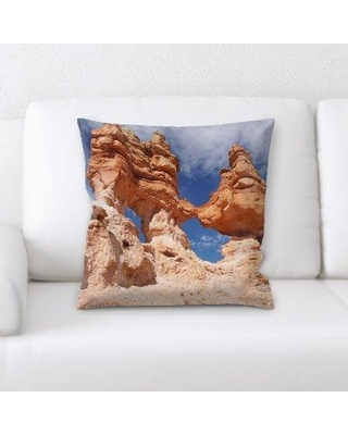 Latitude Run Eucptus Mountain and Cliffs Throw Pillow BI135115