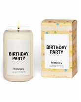 Homesick Candles Birthday Party Vanilla Scented Candle