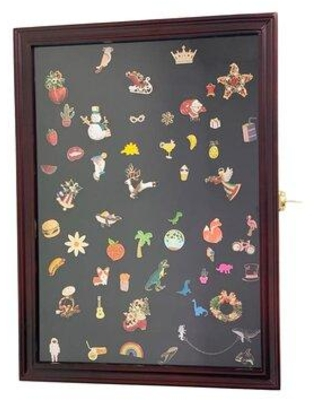 DECOMIL Jewelry Display Case PinMedalCollectorCHR-1