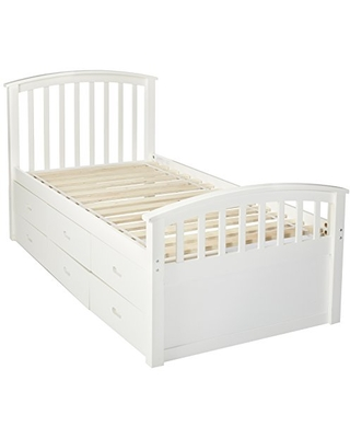 DONCO Kids 425W Series Bed, Twin, White