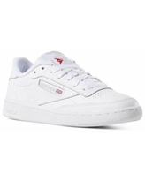 Reebok Women's Club C 85 Shoes in White/Light Grey Size 10 - Court,Lifestyle Shoes