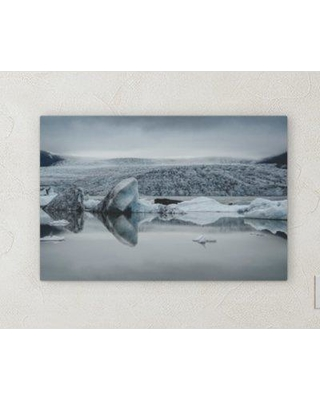"""Ebern Designs 'All Reflections' Photographic Print on Wrapped Canvas BI072093 Size: 10"""" H x 20"""" W x 2"""" D"""