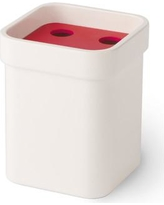 WS Bath Collections Curva Toothbrush Holder Curva 5146 Color: Red